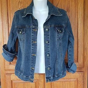 Solid Jean's jean jacket size XL